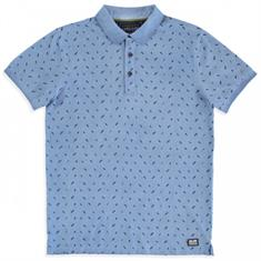 Cars Croce.indigo heren polo denim