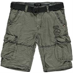 Cars DURRAS SHORT COTTON ANTRA heren casual short antraciet