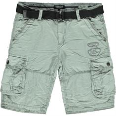 Cars DURRAS SHORT COTTON STONE GREY heren casual short midden grijs