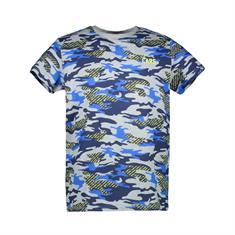 Cars KIDS BACKSON TS PRINT GREY MEL jongens shirt midden grijs