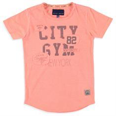 Cars Libbiano.orange jongens shirt koraal
