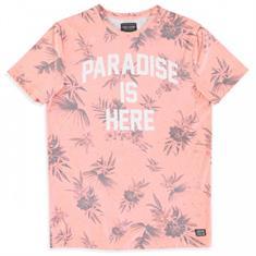 Cars Paradise.coral jongens shirt koraal
