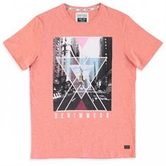 Cars Ponte.coral heren shirt koraal