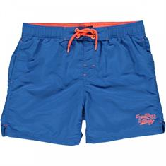 Cars Sassari Nylon heren casual short kobalt