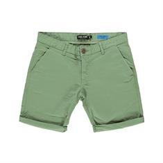 Cars TINO SHORT COTT.STR OLIVE heren casual short groen