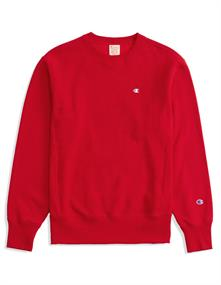 Champion Crewneck Sweatshirt heren casual sweater rood