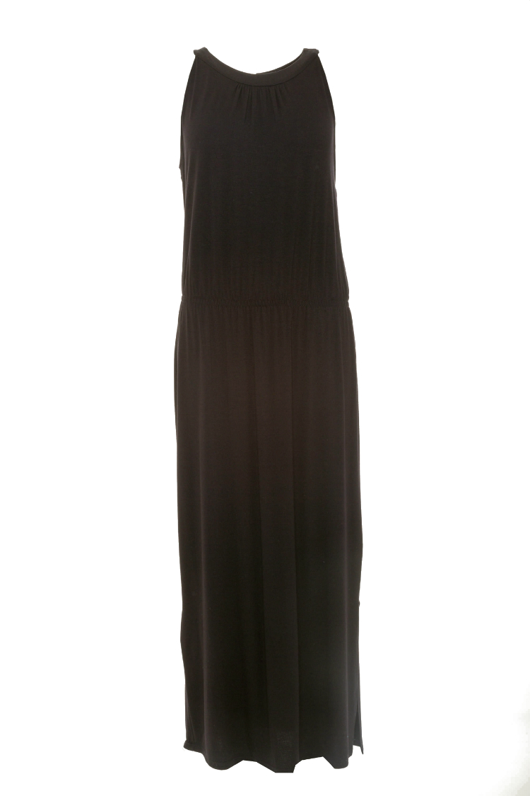 Afbeelding van Charmor 142080.109 Dames strand jurk ZWART