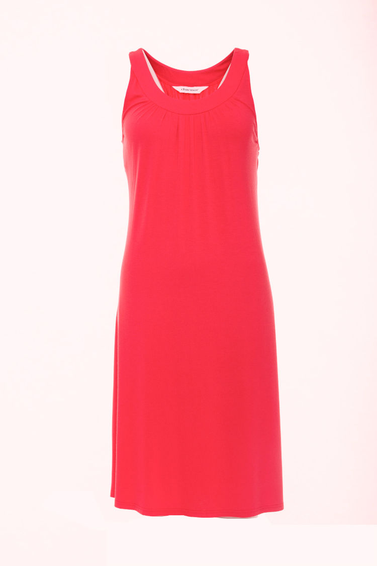 Afbeelding van Charmor 142240.159 Dames strand jurk ROOD