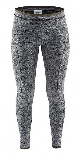Afbeelding van Craft A.Comfort Long Pant Junior thermobroek grijs dessin