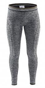 Craft A.Comfort Long Pant junior thermobroek grijs dessin