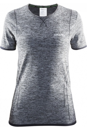 Craft Active Comfort K.M Dames thermoshirt grijs dessin