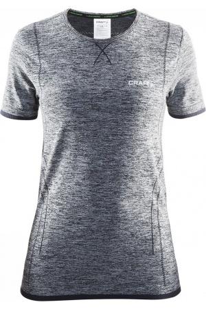 Craft Active Comfort K.M dames thermoshirt grijs dessin