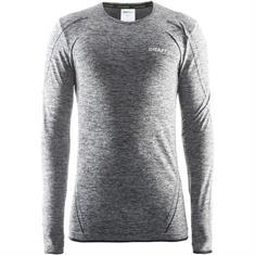 Craft Active comfort l.m. heren thermoshirt grijs dessin