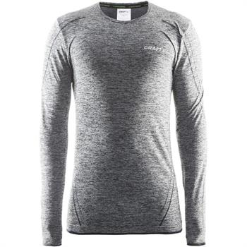 Craft Active Comfort L.M. Heren thermoshirt grijs dessin