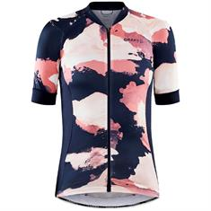 Craft Adv Endur Graphic Jersey W dames wielershirt pink