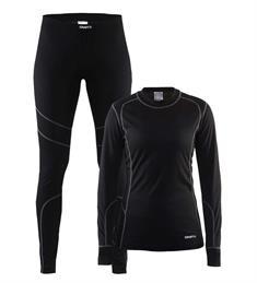 Craft Beste Koop 2-pack DA dames thermokleding set zwart