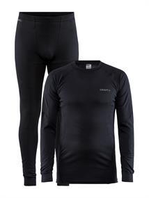 Craft Beste Koop 2-pack HE thermoset shirt+broek sr zwart