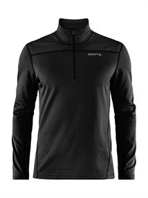 Craft Core Gain midlayer heren ski pulli zwart