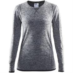 Craft Dry Active Comfort dames thermoshirt grijs dessin