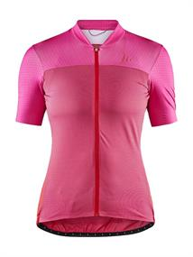 Craft Hale Glow Jersey W dames wielershirt rood