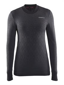 Craft Warm lange mouw dames thermoshirt zwart