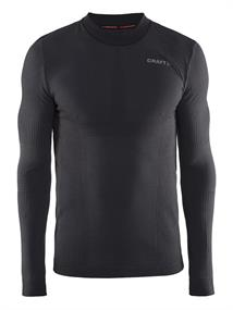 Craft Warm lange mouw heren thermoshirt zwart
