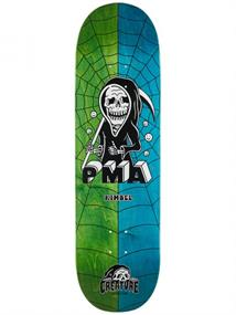 Creature skateboard groen