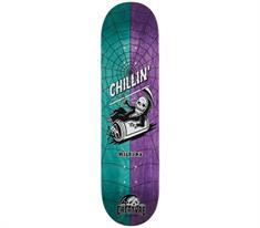 Creature skateboard paars