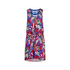 Cyell 820453.426 dames strand jurk blauw dessin