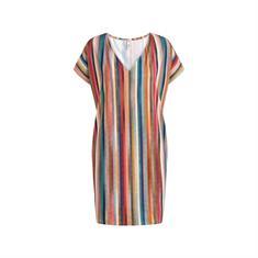 Cyell dames strand jurk blauw