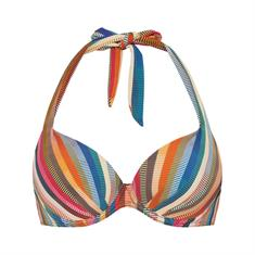 Cyell Delhi Hot Padded Wired bikini top blauw