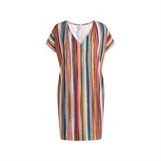 Cyell Delhi Hot Tunic dames strand jurk blauw
