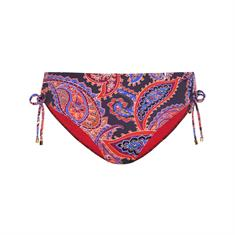 Cyell Indian Summer Pant High bikini slip blauw