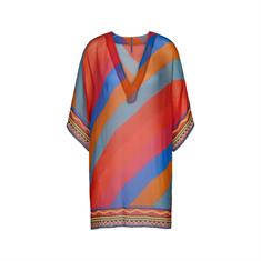 Cyell Style 465 dames strand jurk oranje