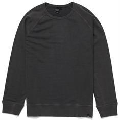 Deus Arthur Crew heren sweater midden grijs