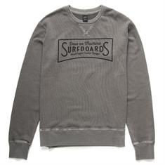 Deus Pacifico Crew heren sweater midden grijs