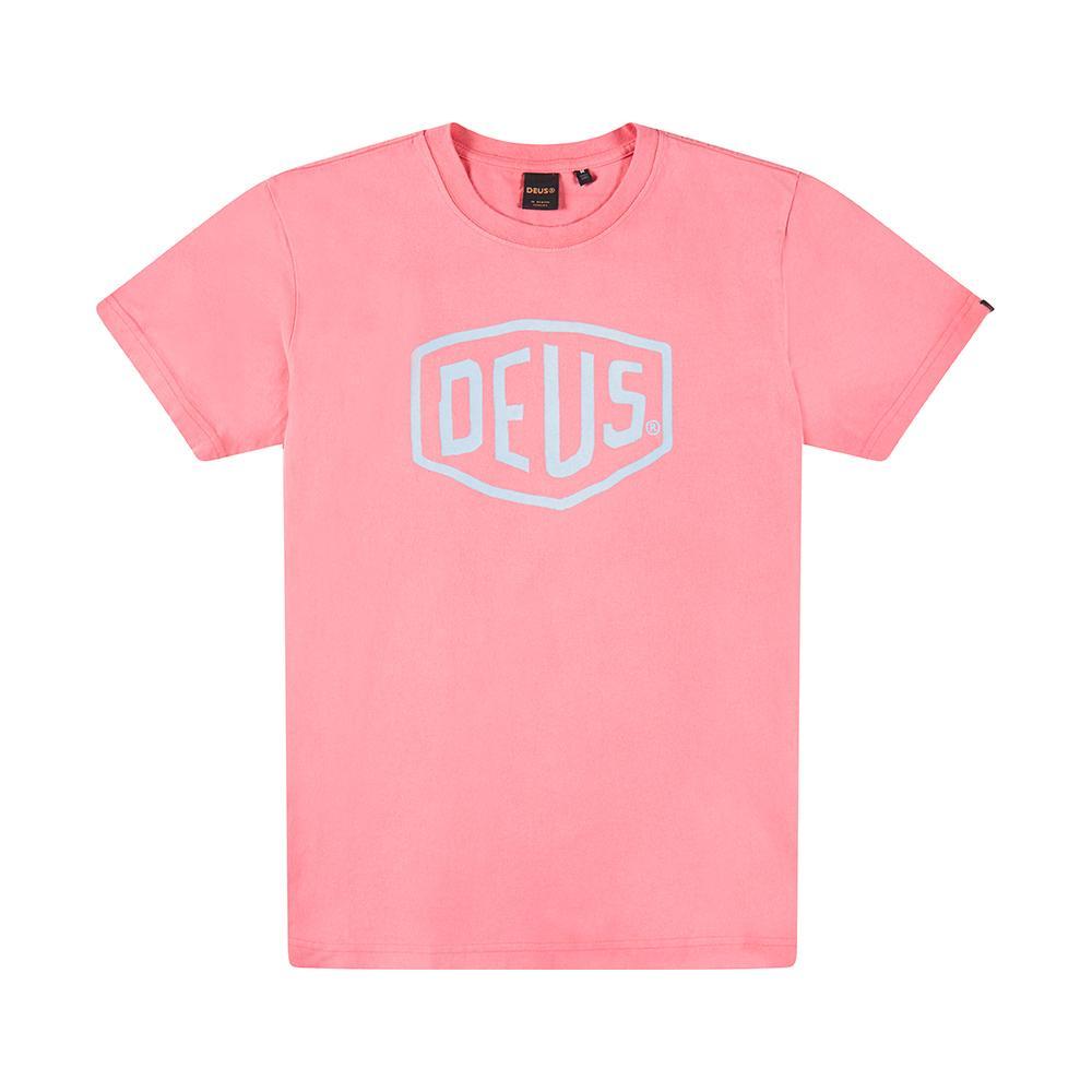 Afbeelding van DEUS Sun Bleached Shield Heren shirt rose