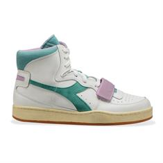 Diadora Mi Basket Used dames sneakers wit
