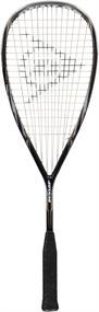 Dunlop Black Storm Titanium squashracket zwart