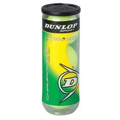 Dunlop Championship tennisballen geel