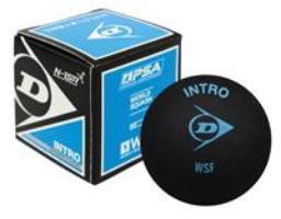 Dunlop Max Blauwe Stip squashbal blauw