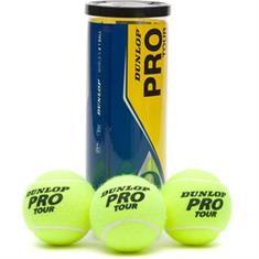 Dunlop Pro Tour tennisballen geel