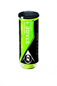 Dunlop Stage 1 tennisballen groen