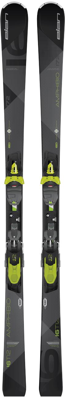 Elan Amp.16Ti2 sport carve ski zwart