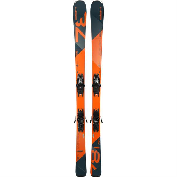 Elan Amphibio 78 TI all mountain ski oranje