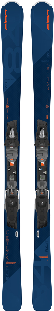 Elan Amphibio 84 XTI All mountain ski ZWART