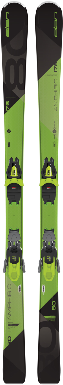 Elan Amphibio80 all mountain ski zwart