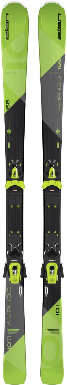 Elan Beste Test Amp. 10Ti sport carve ski zwart