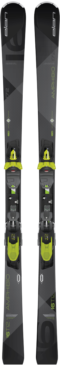 Elan Beste Test Amp.16Ti2 sport carve ski zwart