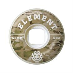 element Camo Griffin 53MM skateboard wielen wit